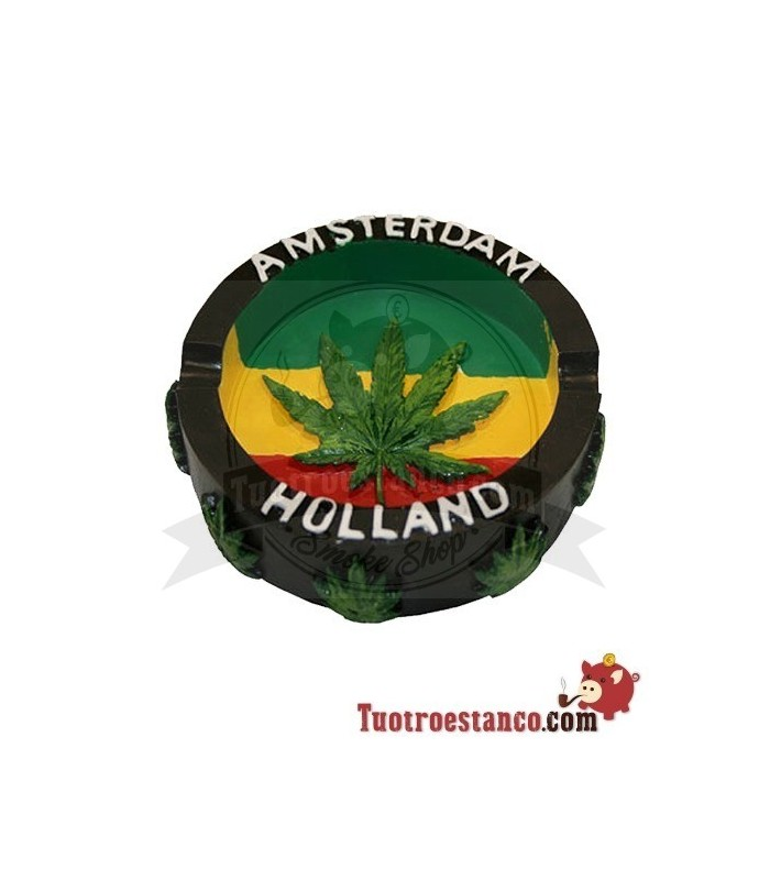 Cenicero Poliresina Amsterdam Holanda