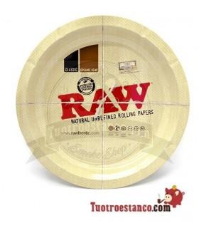 Bandeja Raw redonda 31 cm de diámetro