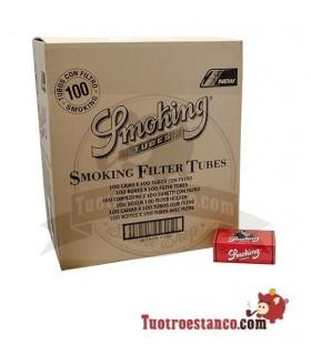 Tubos Smoking 100 cajitas de 100 tubos(Cajón)