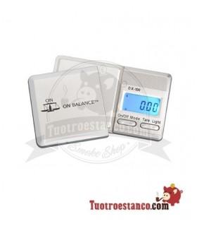 Báscula DX100 0,01 gr a 100 gr