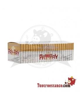 Tubos Pay-Pay filtro largo 200 tubos