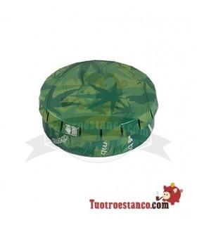ClickBox metal Hoja Verde 5,5cm