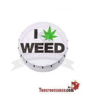 ClickBox i Love Weed 5,5 cm