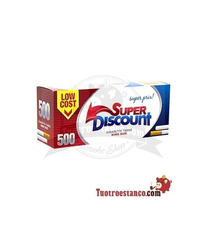 Tubos Discount 1 cajita de 500 tubos