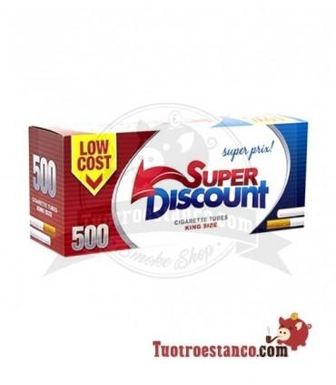 Tubos Discount 500 - 1 cajita de 500 tubos