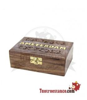Caja de madera WD 89 Amsterdam 15x10