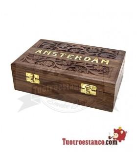 Caja madera Amsterdam WD95 22 x 14 cm