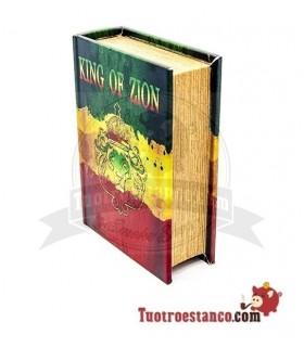 Caja de madera Ocultación King of Lion