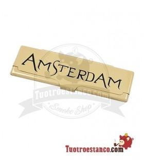 Estuche para papel de fumar KS Amsterdam Oro