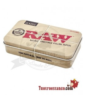 Caja metal Raw 11,5 x 7 cm