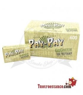 Papel Pay-pay Alfalfa Verde 20 libritos de 600 hojas