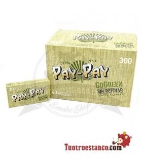 Papel Pay-pay Alfalfa verde de 300 hojas - 40 libritos