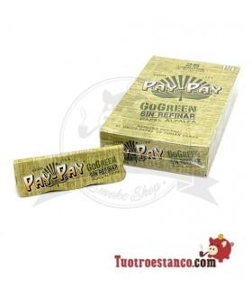 Papel Pay-Pay Alfalfa verde de 1 1/4 - 25 libritos