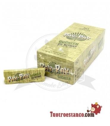 Papel Pay-pay Alfalfa verde de 70mm - 50 libritos
