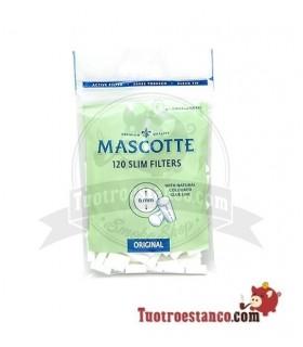 Filtros Mascotte Slim 6mm 120 filtros