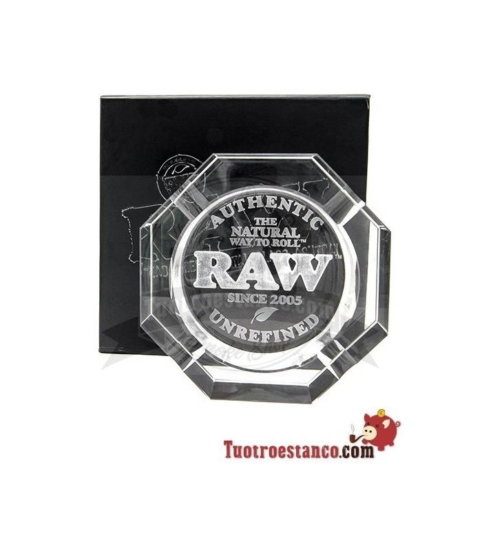Cenicero de cristal RAW Edición Coleccionista