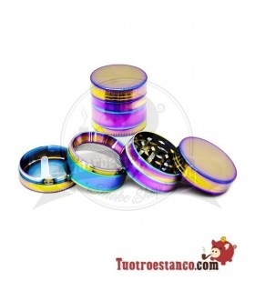 Grinder Metal Rainbow 4 piezas 40 mm