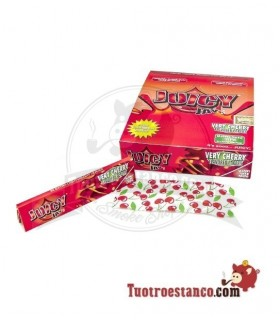 Estuche de papel King Size Juicy Cereza de 24 libritos