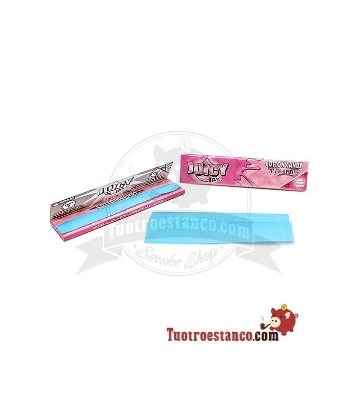 Papel Juicy Jay King Size 110 mm sabor Algodón de azúcar