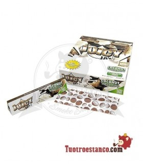 Estuche de papel King Size Juicy Coco de 24 libritos