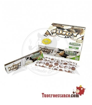 Papel Juicy Jay sabor Coco King Size - 24 libritos
