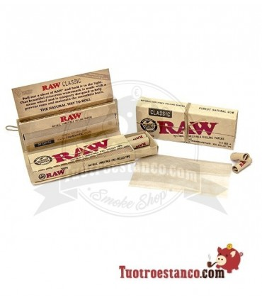 Papel RAW 1 1/4 + Tips Prerolled