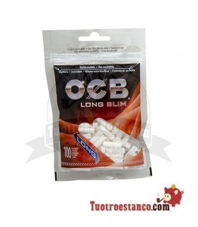 Filtros OCB 6 mm largos 100u