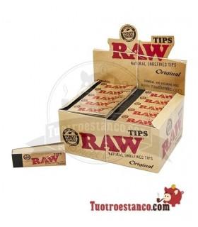 Filtros de cartón Raw 1 estuche de 50 libritos