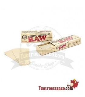 Filtros de cartón Raw Gummed