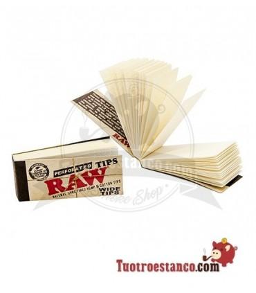 Filtros de cartón - Raw Orgánicos anchos