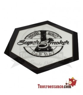 Mantel silicona Super Smoker Dab Mat hexagonal