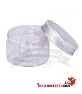 Bote plástico tapa aluminio 30 ml