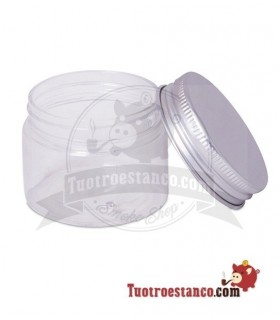 Bote plástico tapa aluminio 50 ml