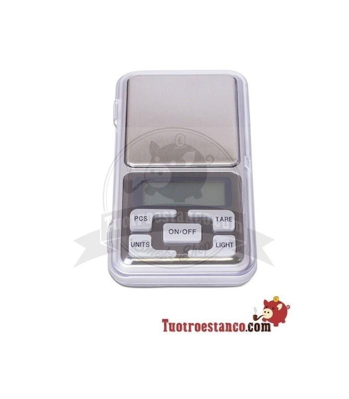 Báscula de bolsillo color Plata 0,01 gr a 500 gr