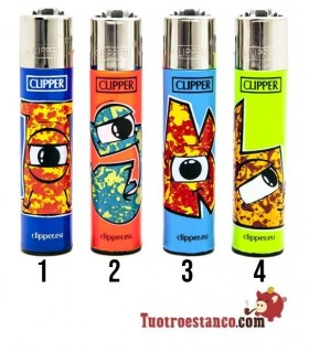 Clipper Abecedario Eyes IJKL