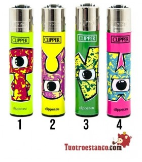 Clipper Abecedario Eyes TUVW