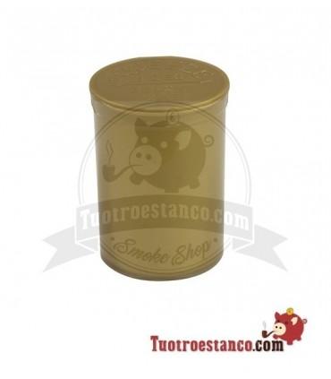 Envase Medical Pot plástico Dorado Pop Top 120 ml