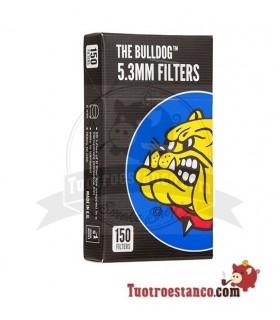 Filtros Bulldog Precortados 5,3mm 150 filtros