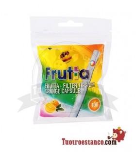 Filtros Frutta Naranja Mentolada con Click 8mm 100u