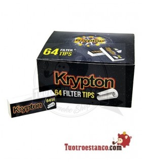 Filtros de cartón Krypton - 1 caja con 50 libritos