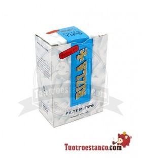 Filtros Regular Rizla 8 mm 100 filtros (cajita)