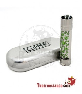 Clipper metalico Holanda MIX + Estuche Clipper