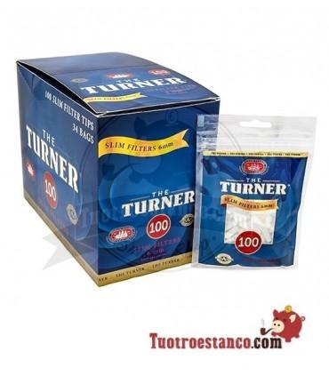 Filtros The Turner 6mm - 34 bolsitas de 100 filtros