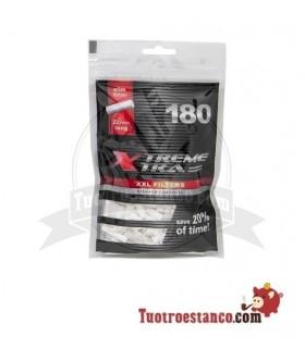 Filtros X-Trem Xtra de filtro largo 6 mm 180 filtros