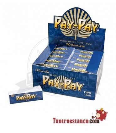 Filtros de cartón Pay-Pay - 1 caja con 50 libritos