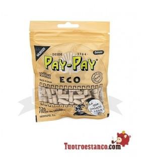 Filtros Pay-Pay Orgánicos de 6mm 120 filtros