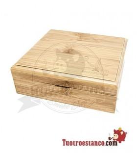 Caja de Bambú con imanes Amsterdam 1