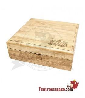 Caja de Bambú con imanes Amsterdam 4
