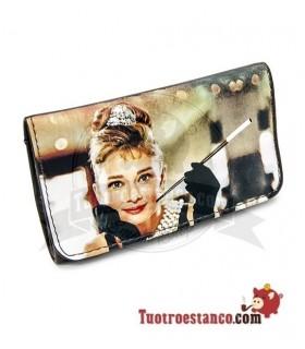 Porta tabaco Piel la Siesta Audrey Hepburn