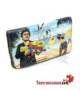 Porta tabaco Piel la Siesta La playa